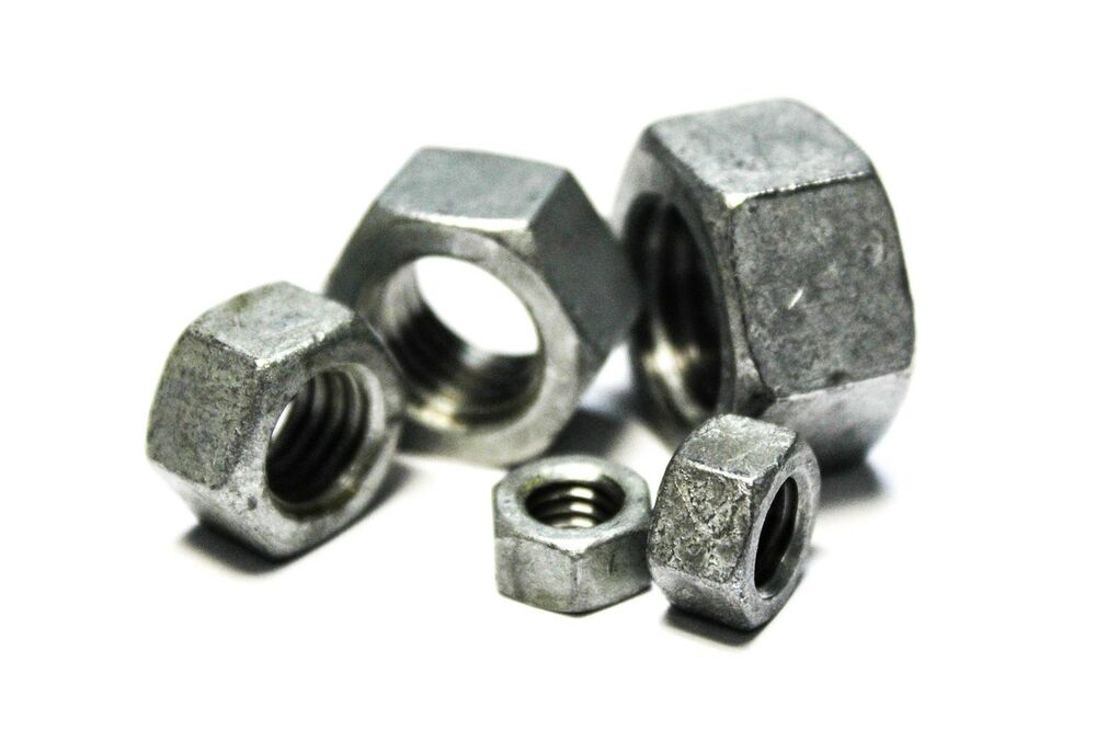 Quot heavy hex nuts structural hot dip
