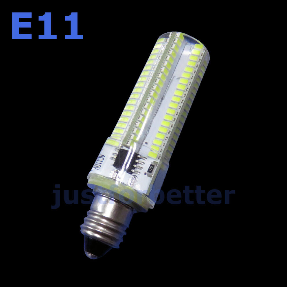 1 20pcs Dimmable E11 9w 152 3014 Smd Led Pure Warm White