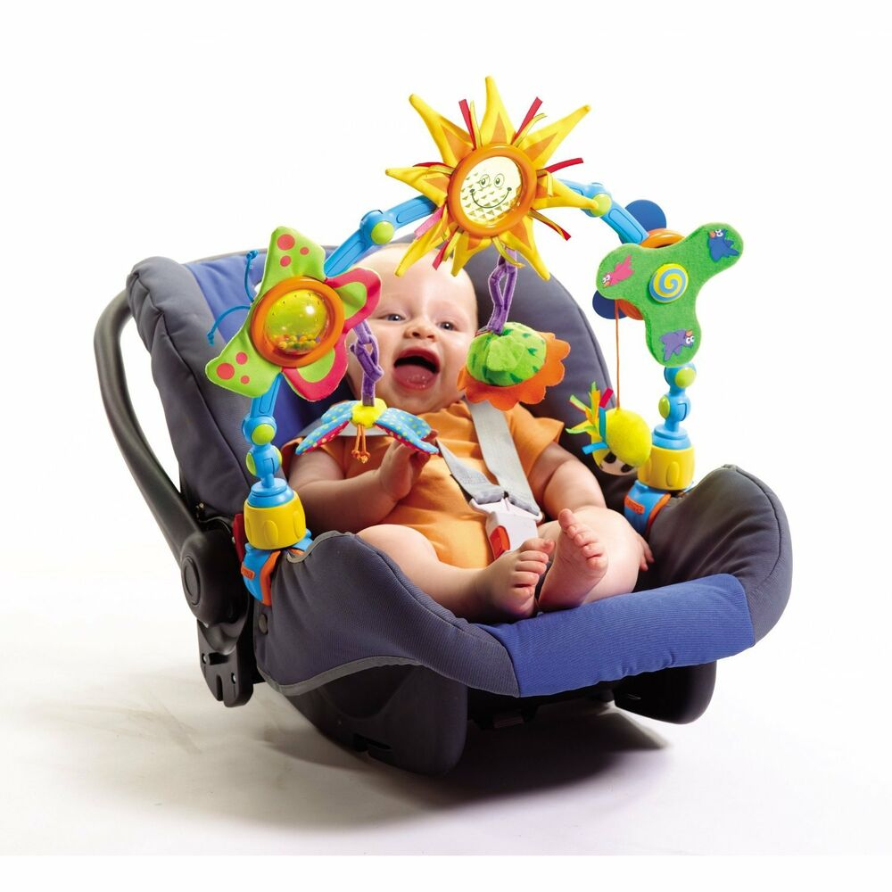 tiny love take along sun sunny stroller car seat activity. Black Bedroom Furniture Sets. Home Design Ideas