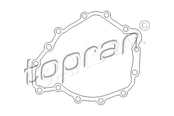 Audi A4 B6 Seat Manual Transmission Oil Pan Gasket Seal Engine Side