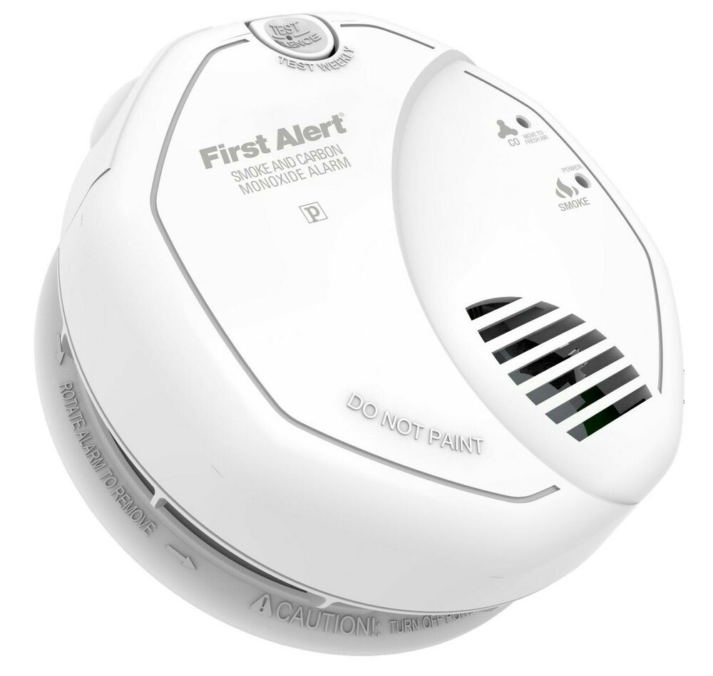 first alert sc7010bv combination smoke carbon monoxide alarm photoelectric ebay. Black Bedroom Furniture Sets. Home Design Ideas