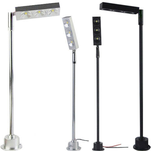 Light Pole Led Fixtures: 3W LED Pole Light Fixture Desk Stand Lamp Jewelry Store