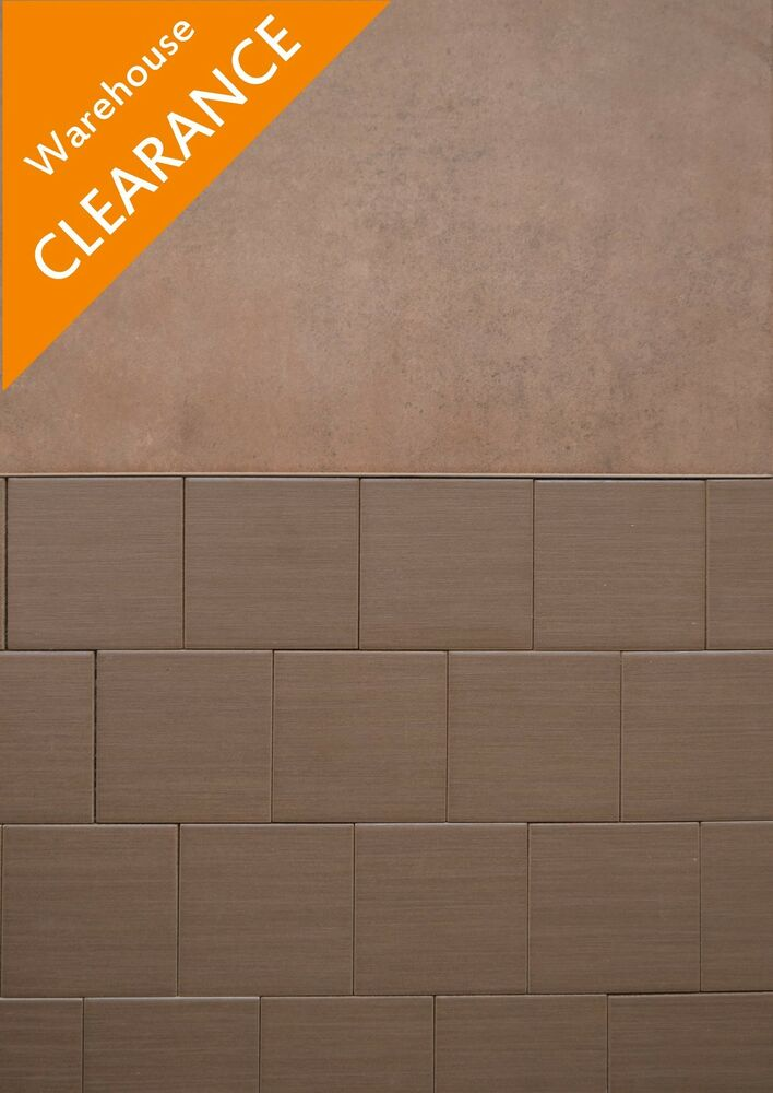 Brown Bathroom Tiles Texture : Wood effect cm dark brown glazed textured ceramic