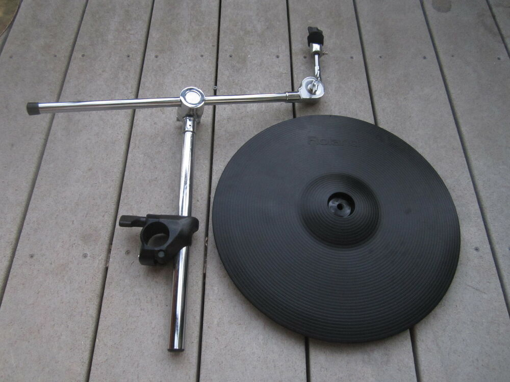 roland cy 15r v cymbal ride w mdy 10u stand 8 10 12 13 15 ebay. Black Bedroom Furniture Sets. Home Design Ideas