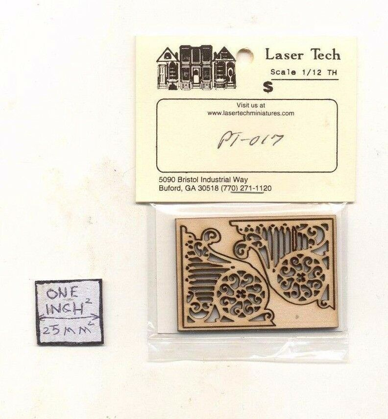 Victorian Painted Lady Porch Trim Lt017 Wood 1 12 Scale