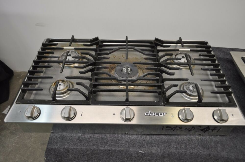 Dacor Distinctive Dct365s 36 Quot Stainless Gas Cooktop Ebay