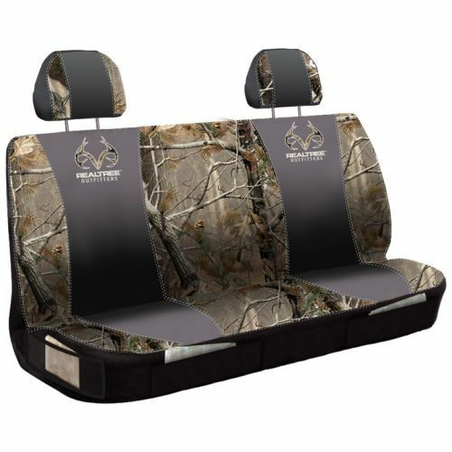 realtree ap camo camouflage universal bench seat cover truck auto car ebay. Black Bedroom Furniture Sets. Home Design Ideas