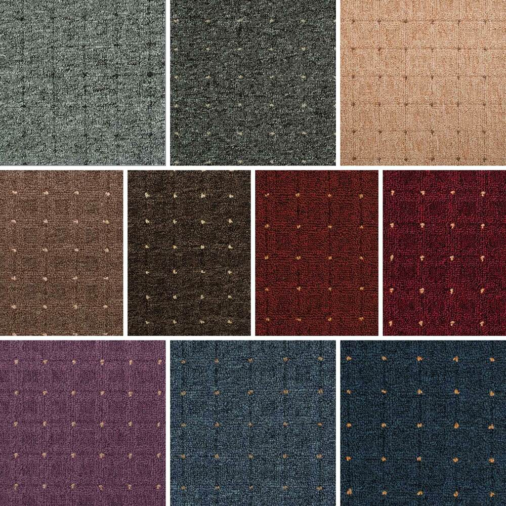 Patterned Loop Pile Carpet Stain Resistant Quality