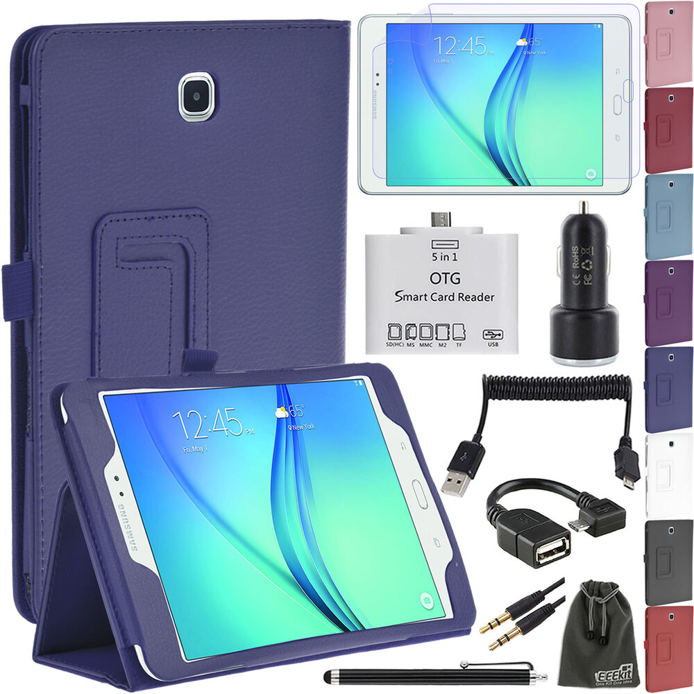 eeekit for samsung galaxy tab a 8 0 9 7 t350 550 tab 4 10 1 t530 case accessory ebay. Black Bedroom Furniture Sets. Home Design Ideas