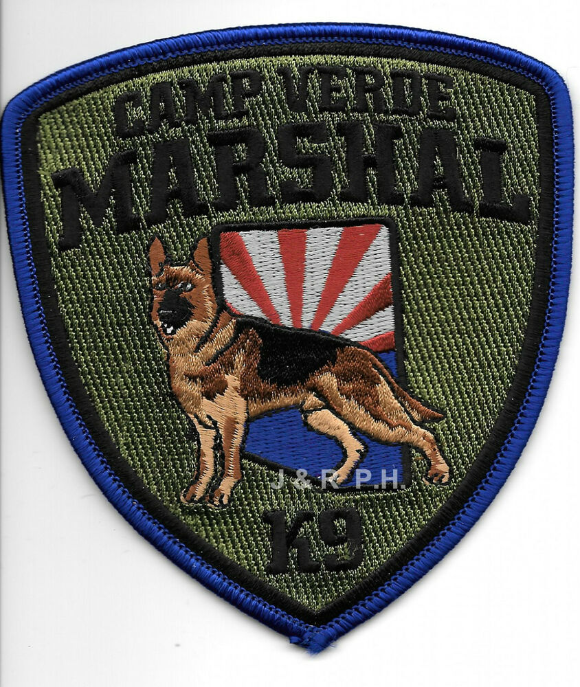 "Camp Verde Marshal K-9 Vers.-2 (4"" X 4.5"" Size) Shoulder"