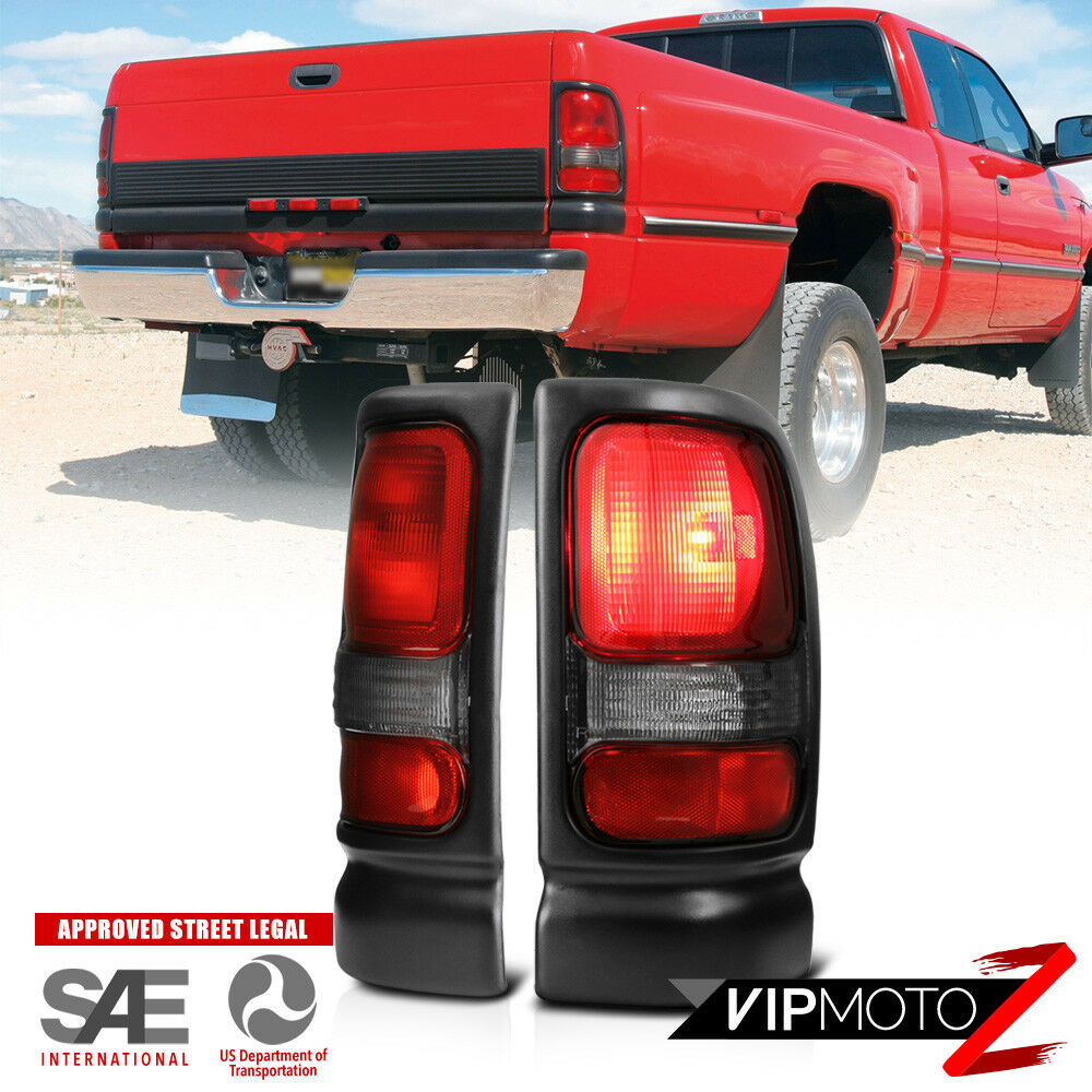 1994 2001 dodge ram 1500 factory style brake tail lights 94 02 ra. Black Bedroom Furniture Sets. Home Design Ideas