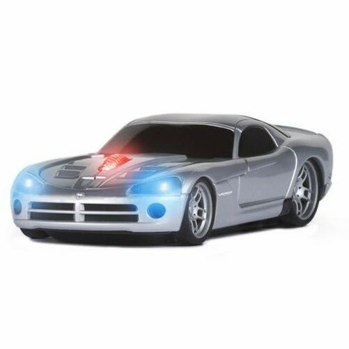 road mice dodge viper car wireless computer mouse silver. Black Bedroom Furniture Sets. Home Design Ideas