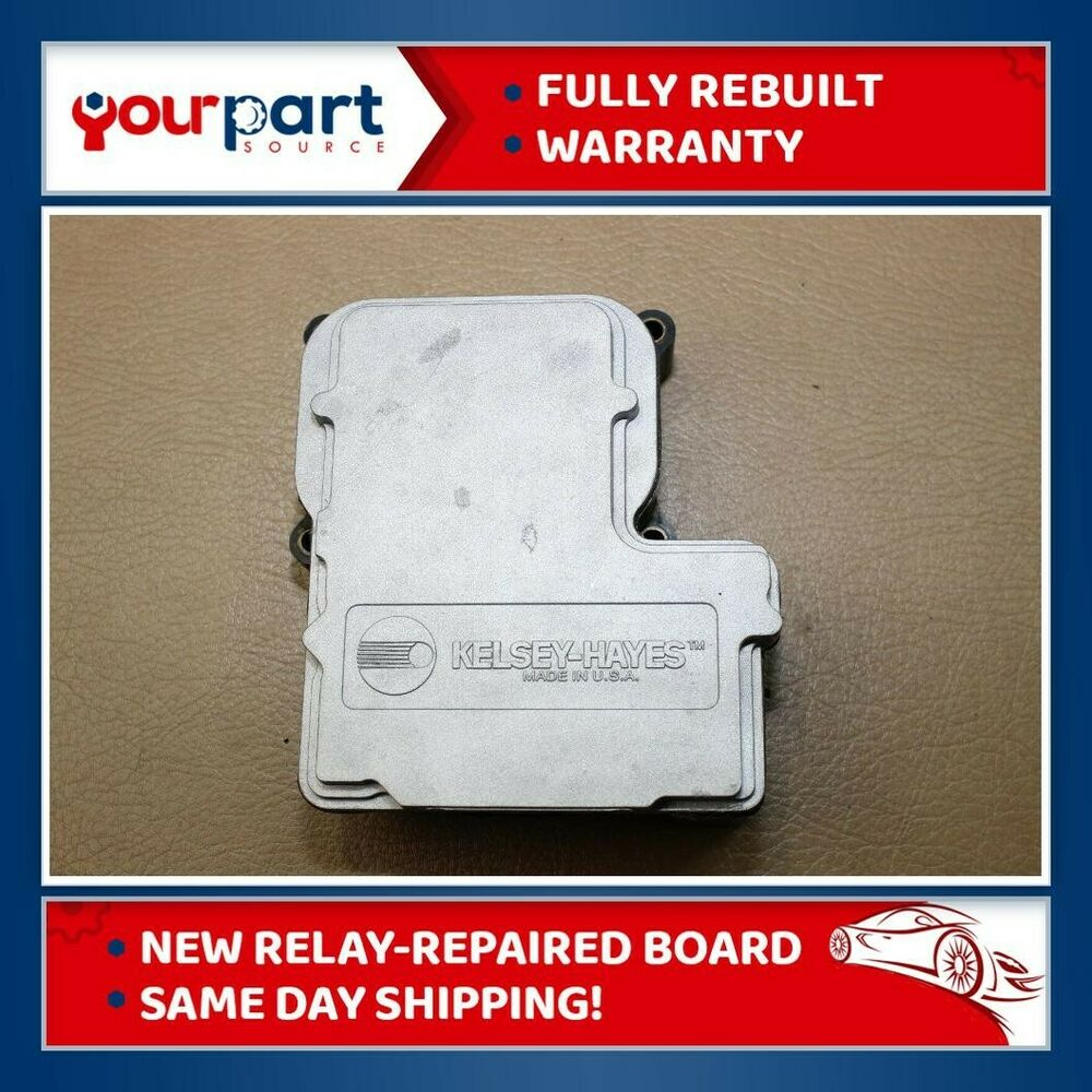 Reman 01 02 Chevy Blazer S10 Sonoma Abs Anti Lock Brake Pump 1997 Chevrolet Wiring Control Module Ebay
