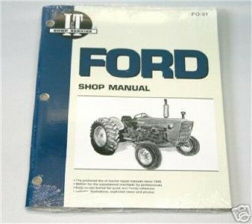 1975 Ford 2000 Tractor Parts : Ford cyl tractor i t shop