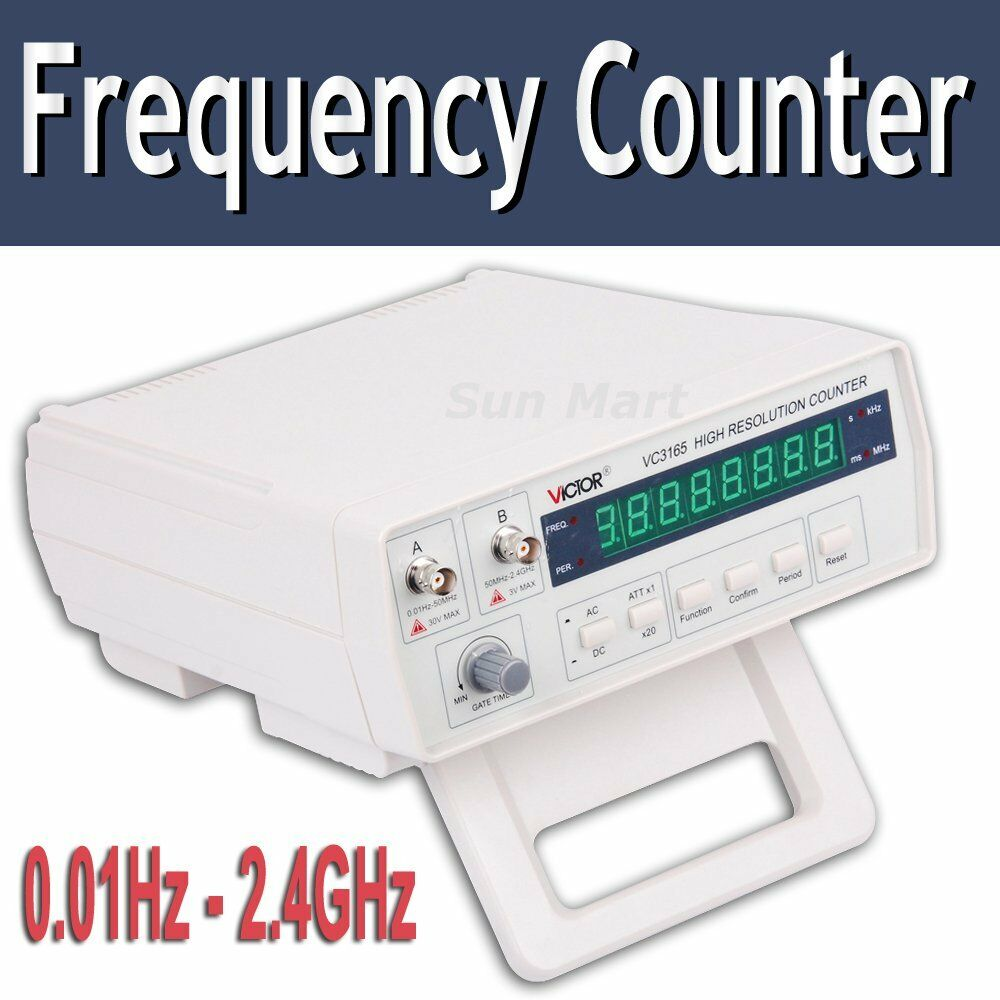 Radio Frequency Counter : Risepro vc radio frequency counter rf meter hz