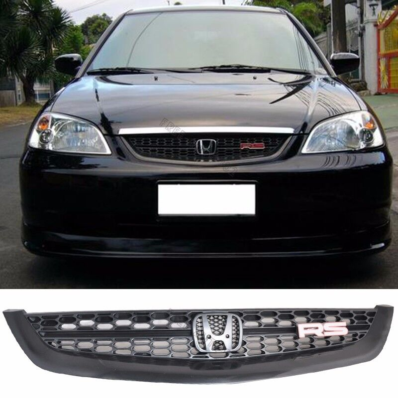 S L on Honda Civic Front Bumper Replacement