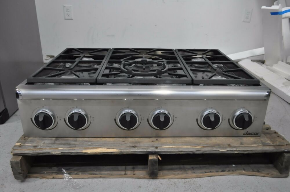 Dacor Epicure Esg366sch 36 Quot Stainless Gas Cooktop Rangetop