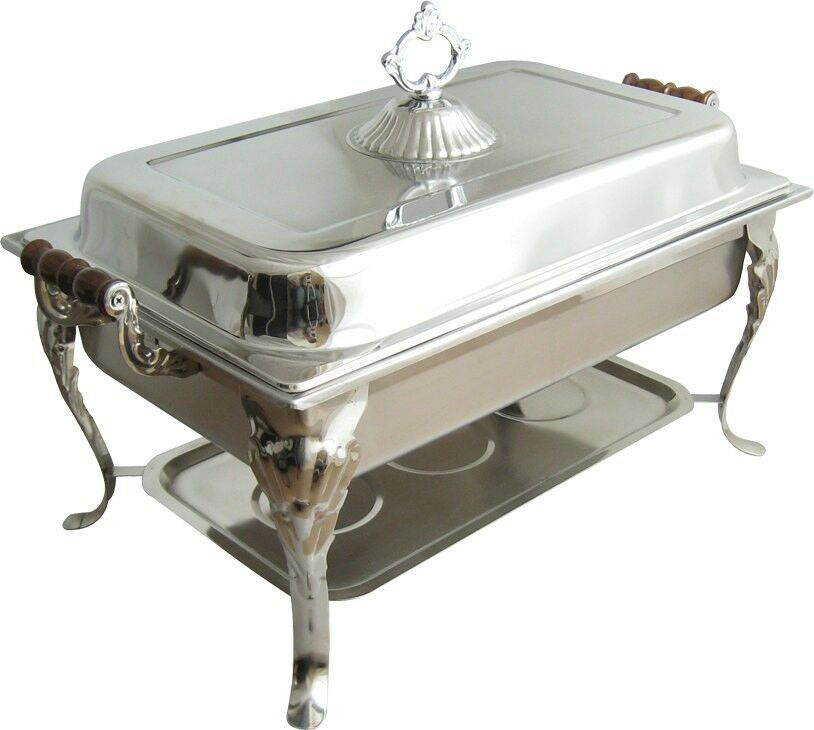 chafing dish warmer 8qt rectangular chafer chafing dish catering banquet 2074