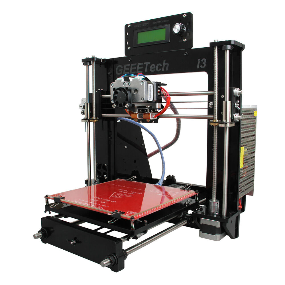 Acrylic Frame With All Metal Parts Dual Extruder Prusa I3
