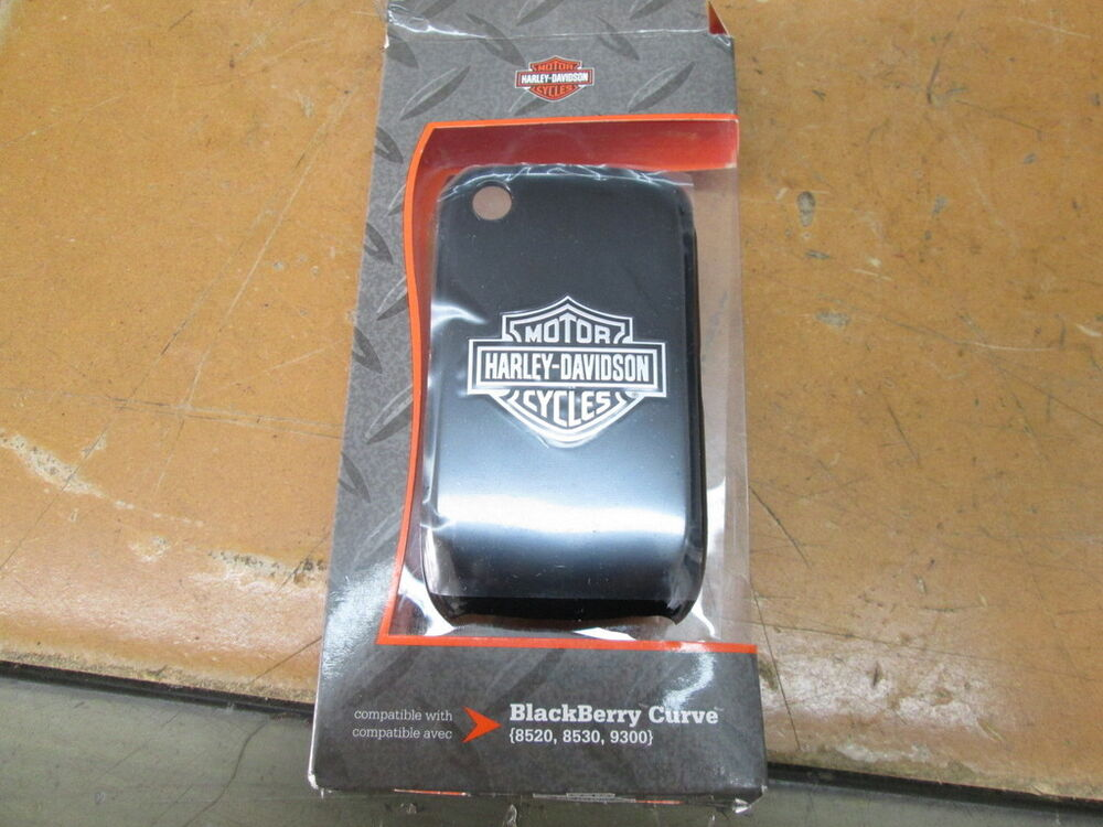 Harley Davidson Cell Phone Covers: Harley Davidson OEM Fuse Blackberry Curve Cell Phone Shell