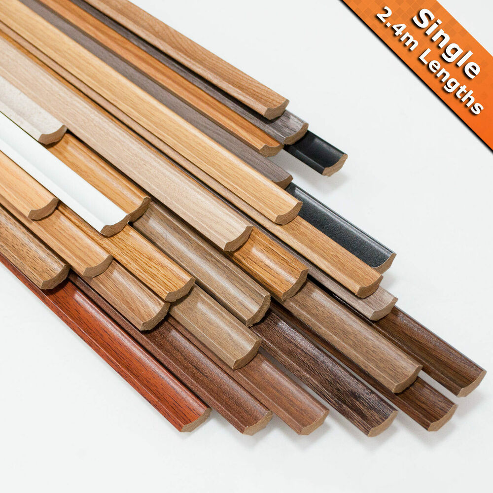 Laminate Flooring Scotia Beading 2 4m Lengths Edging Trim