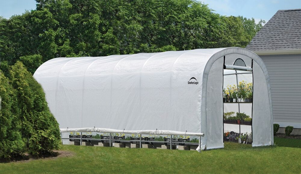 Portable Greenhouse Replacement Cover : Shelterlogic replacement cover kit