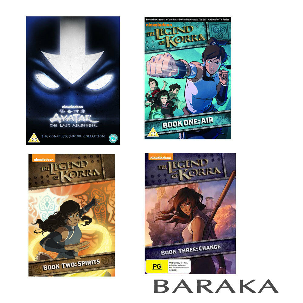 Avatar 3: Avatar The Last Airbender 3 Book DVD Box Set + The Legend