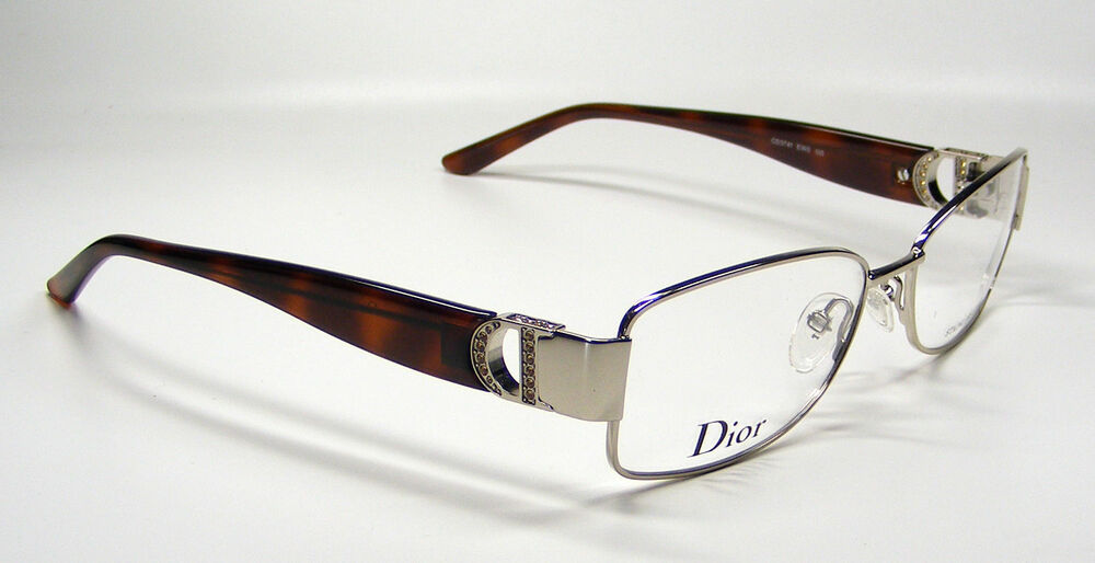 Glasses Metal Frame Dior : Christian Dior Eyeglasses CD 3741 Color EWO Brown ...