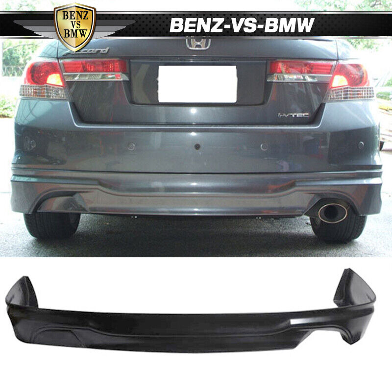 Honda Accord 2011 2012 Sedan Oe Type Rear Bumper Lip