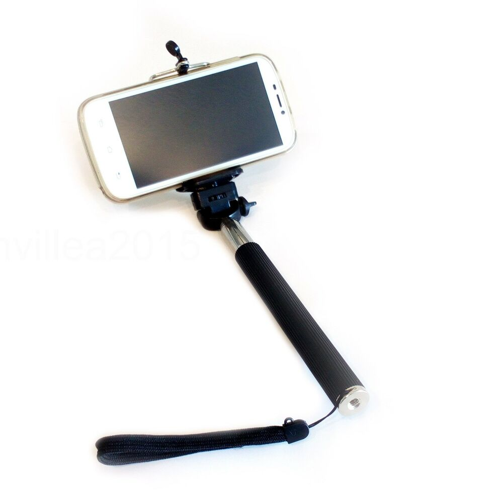 selfie stick monopod halter teleskopstange smartphone und. Black Bedroom Furniture Sets. Home Design Ideas