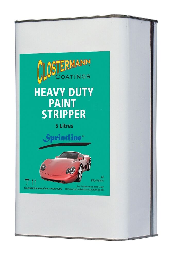 Heavy Duty Car Paint Remover