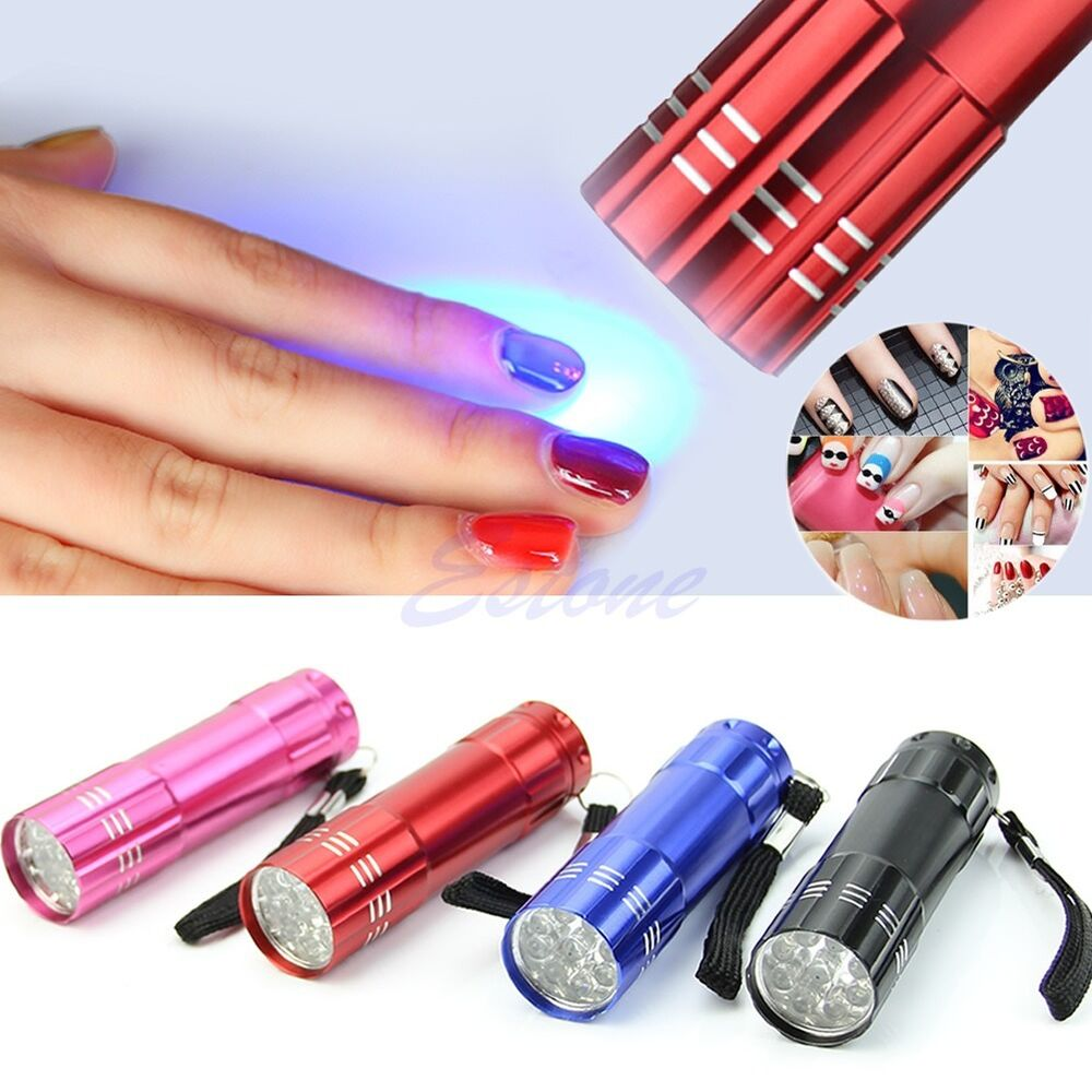 UV Lamp Nail Dryer Portable Mini LED Flashlight For Nail