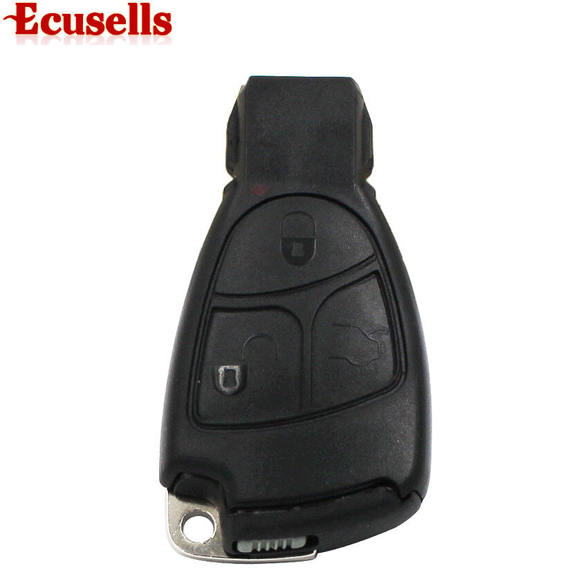 For mercedes benz smart key fob remote shell 3 button for Mercedes benz smart key replacement