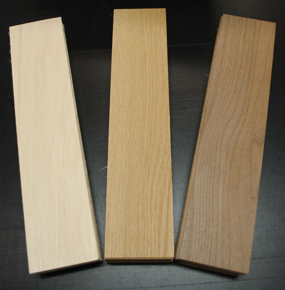 WALNUT OAK MAPLE THIN BOARDS LUMBER WOOD 18 X 234 X