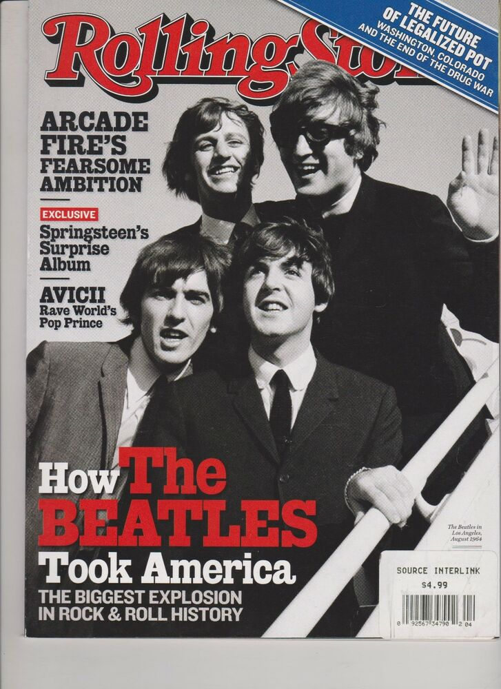 Rolling Stone Magazine 1200 January 16th 2014 The Beatles