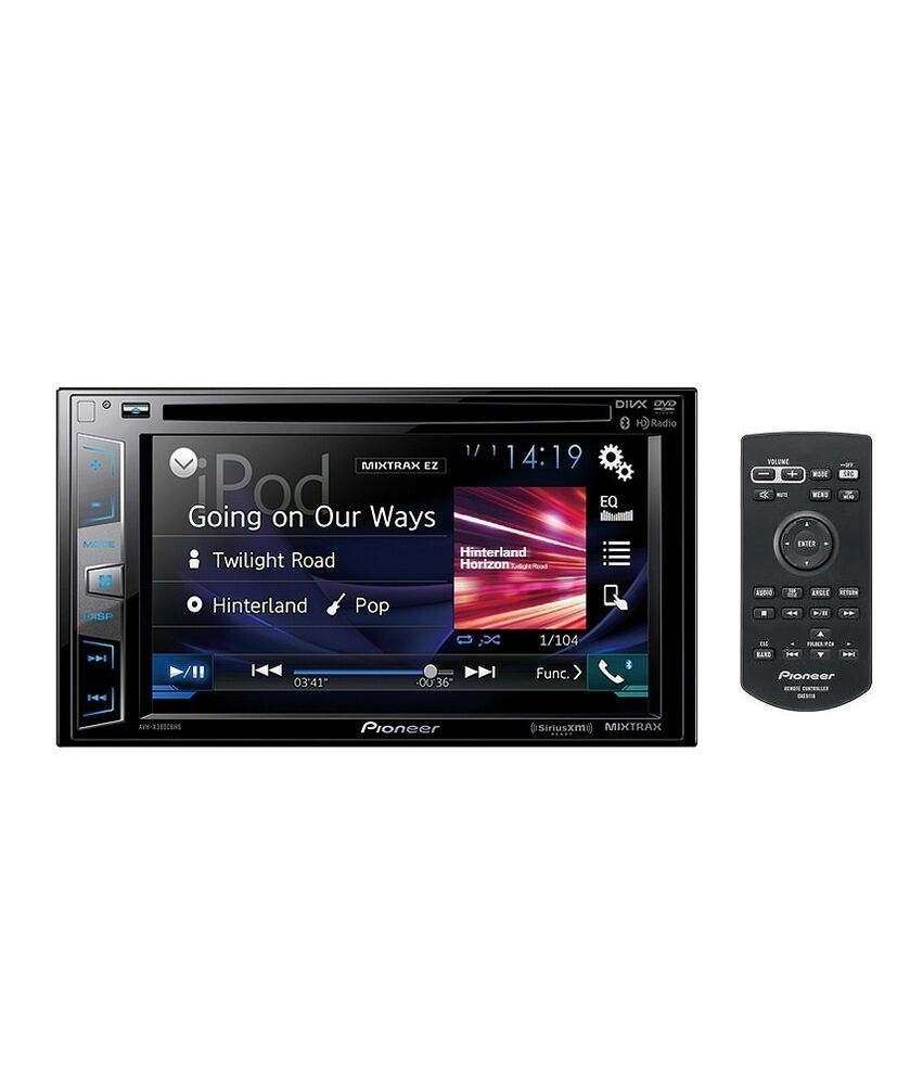 pioneer avh x2800bs 6 2 2 din touchscreen bluetooth dvd cd car stereo receiver ebay. Black Bedroom Furniture Sets. Home Design Ideas