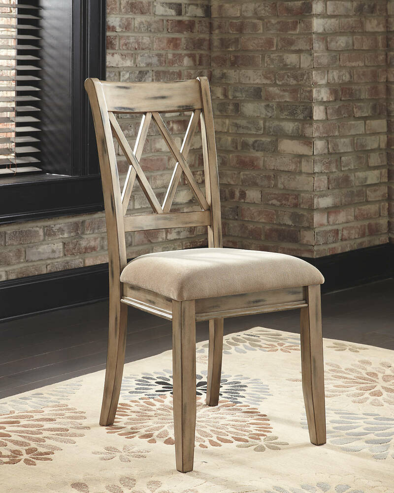 Antique White Dining Room Furniture: Ashley D540-102 Mestler Dining Side Chair In Antique White