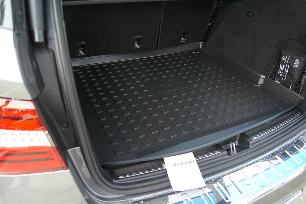 Mercedes benz m ml w166 cargo liner tray ml350 ml550 ml63 for Mercedes benz ml350 accessories
