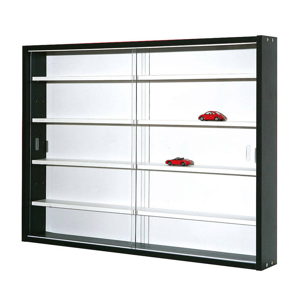 sammlervitrine setzkasten glasvitrine h ngeschrank h ngevitrine schaukasten wei ebay. Black Bedroom Furniture Sets. Home Design Ideas
