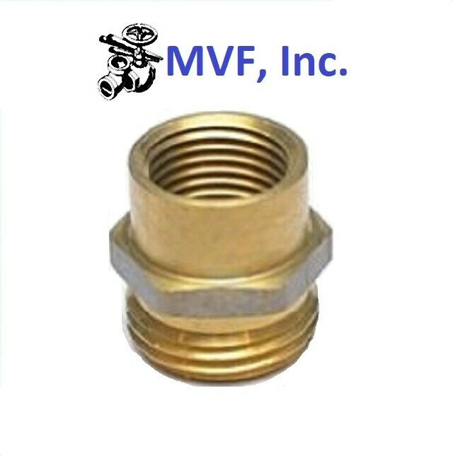 Garden hose fitting quot male ght female npt pipe