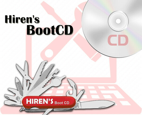 Trying to make hirens boot cd into a bootable usb