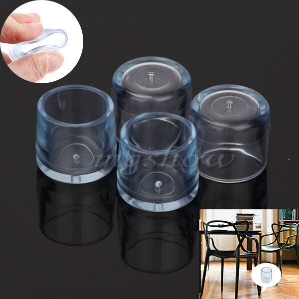4pcs rubber furniture table chair leg floor feet cap cover protector