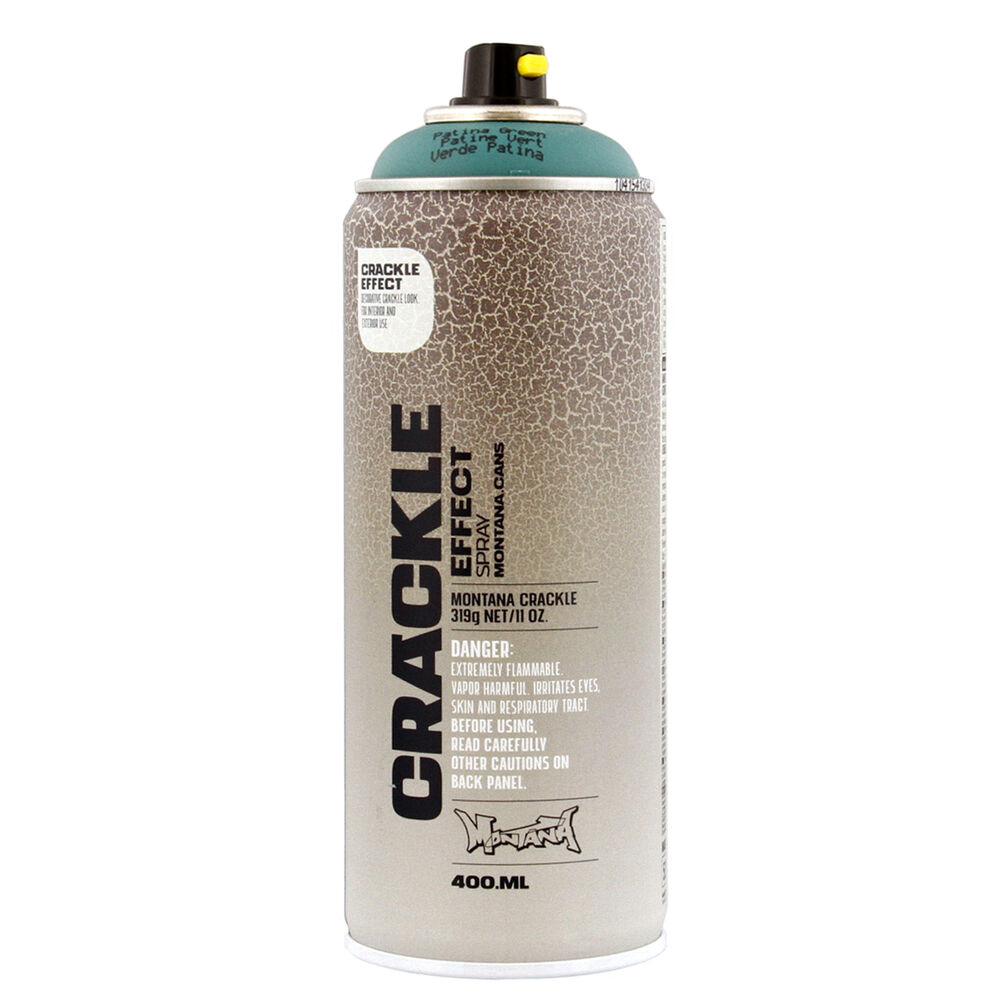 montana crackle effect spray paint 11 oz 400ml patina green urban. Black Bedroom Furniture Sets. Home Design Ideas