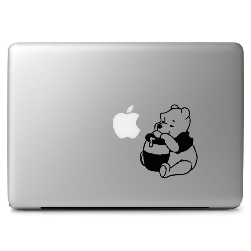 Winnie pooh honey pot for macbook air pro laptop car window vinyl decal sticker ebay