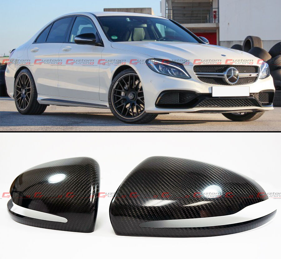 2015 2017 mercedes benz w222 s550 s600 carbon fiber side for Mercedes benz s550 car cover