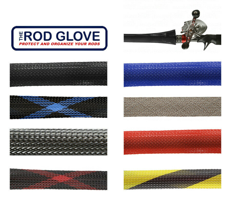 The rod glove casting extra long jacket for 7 1 4 39 8 1 2 for Fishing pole sleeves