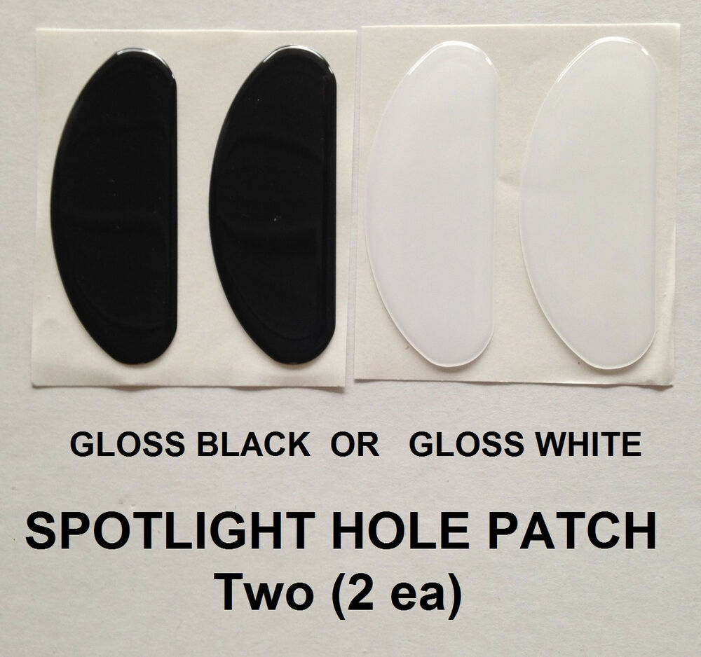 Police Vehicle Windshield Post Spotlight Hole Patch Cover