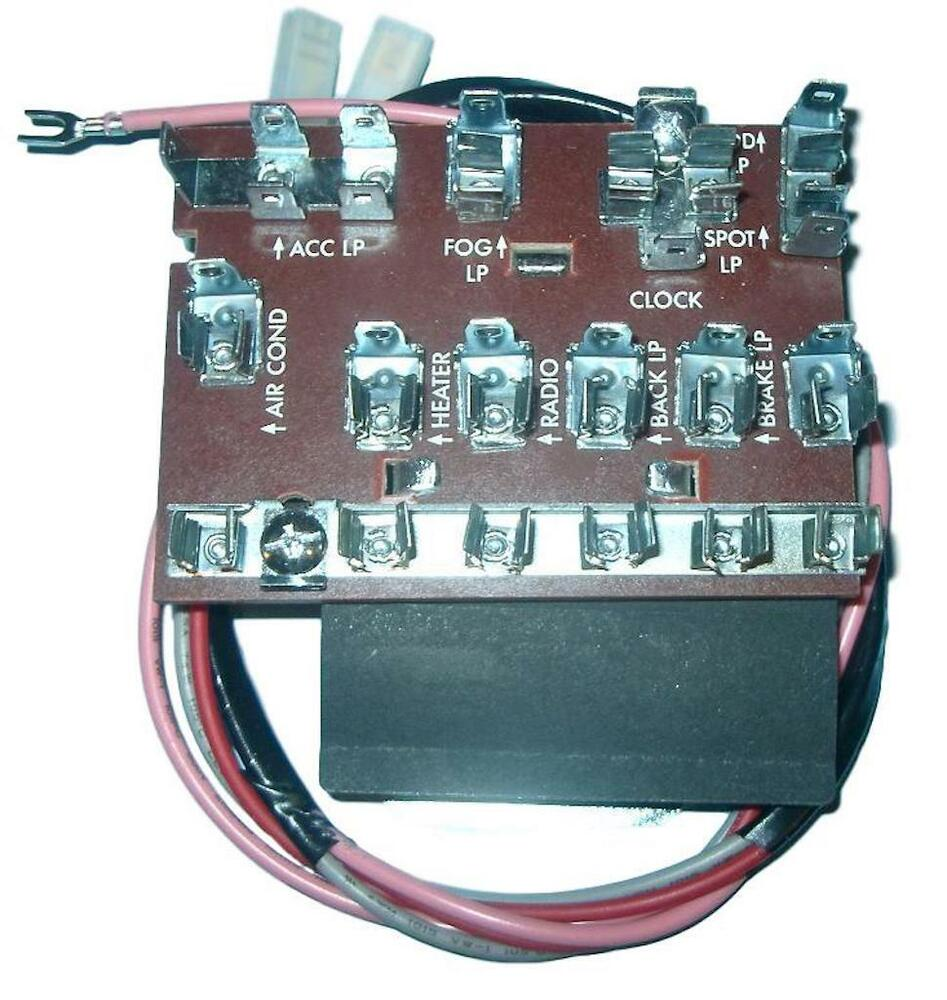 55 56 57 chevy electrical fuse box *new* 1955 1956 1957 ebaydetails about 55 56 57 chevy electrical fuse box *new* 1955 1956 1957