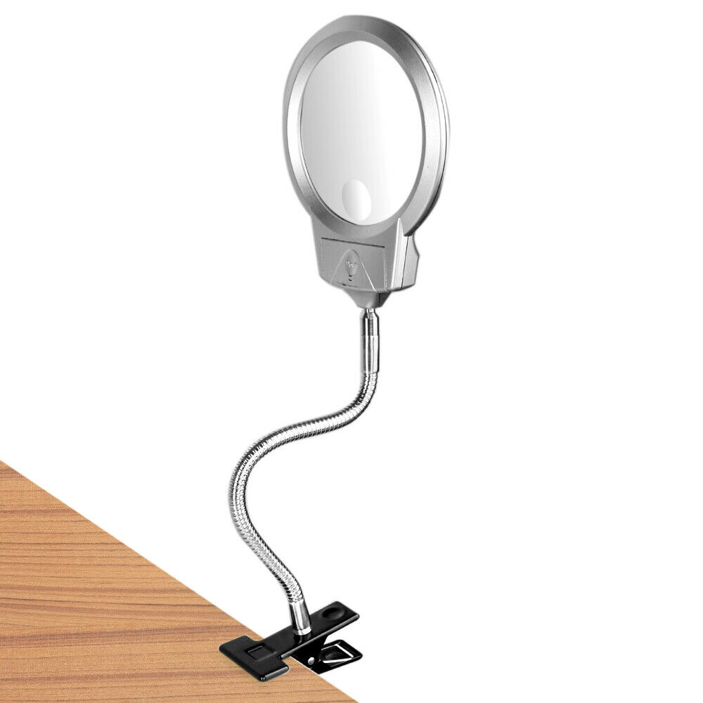 2 25x 107mm 5x 22mm Led Magnifying Desktable Lamp