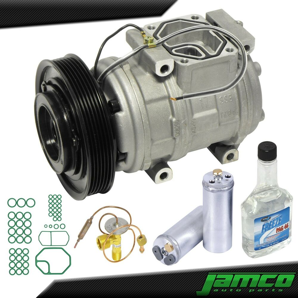 New AC Compressor Kit With Clutch A/C For 98-02 Honda